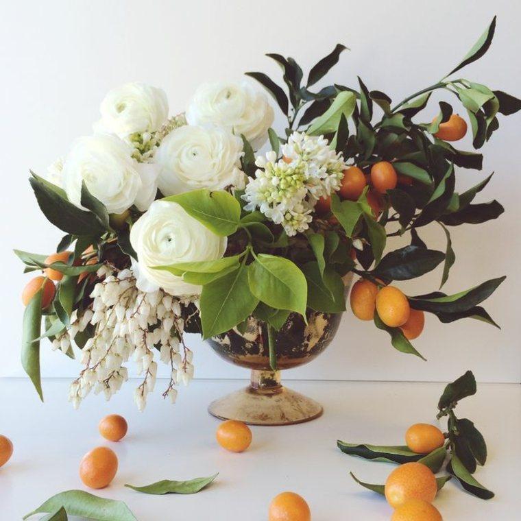 centros de flores naturales de temporada