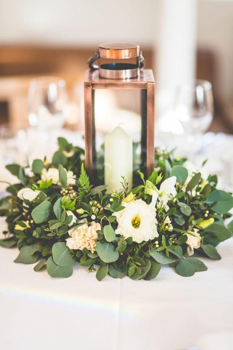 estupendos centros de mesa con flores