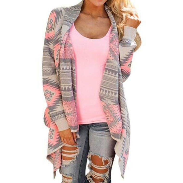 chaqueta-de-punto-rosada-azteca