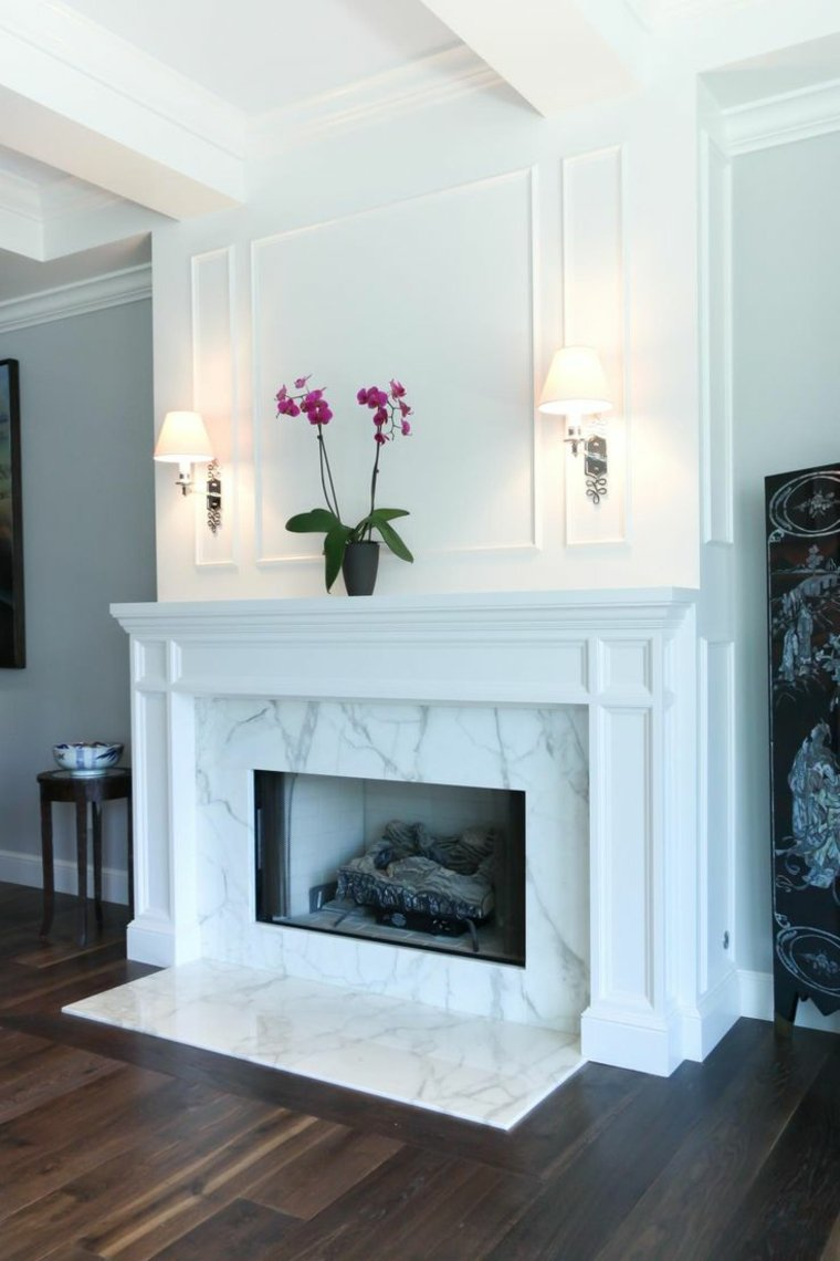 chimenea-marmol-dormitorio-estilo