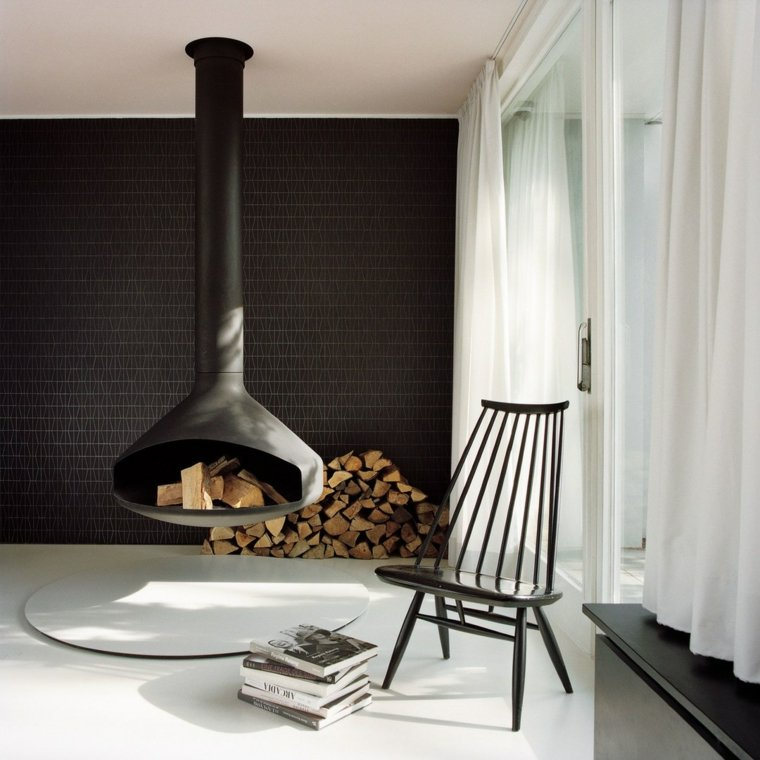 sala de estar de estilo escandinavo