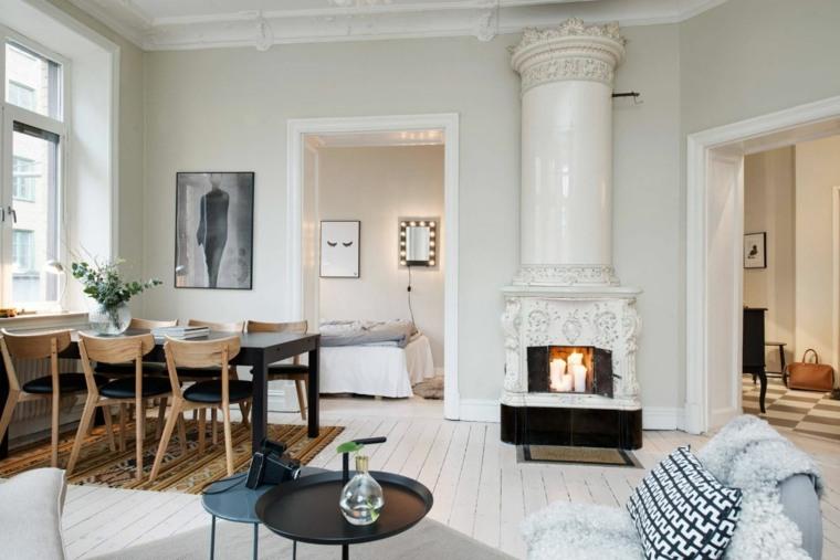 sala de estar estilo escandinavo