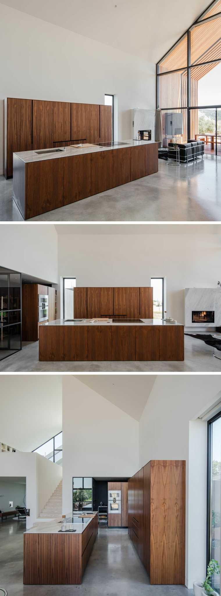 Casas modernas diseño de Ourém por Filipe Saraiva Arquitectos