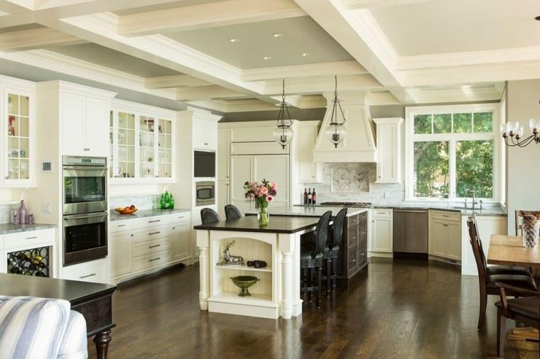 Cocina americana - idea para diseñar un espacio ...