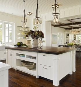 cocina-americana-isla-encimera-madera-estilo-moderno