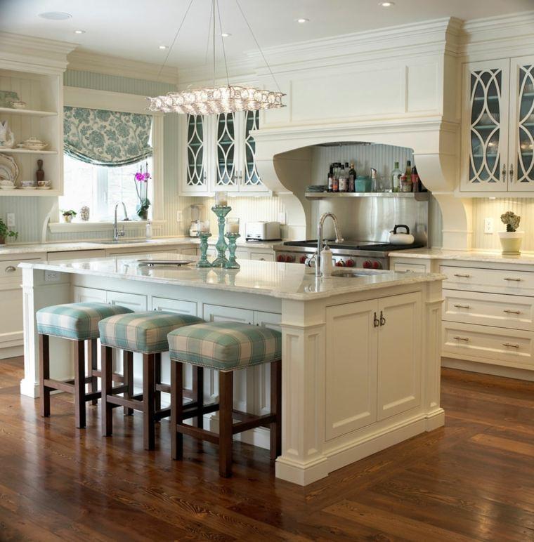 cocina-americana-taburetes-bellos-originales