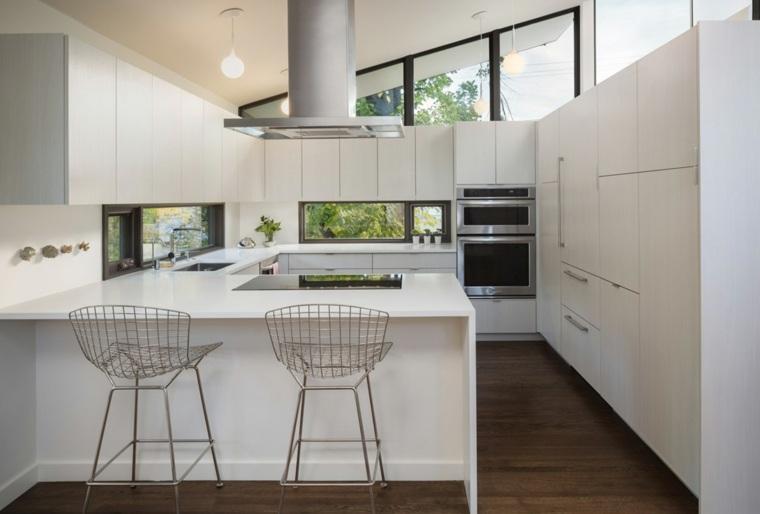 cocina-moderna-blanco-diseno HMH Architecture Interiors