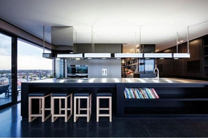 cocina moderna especial decorada