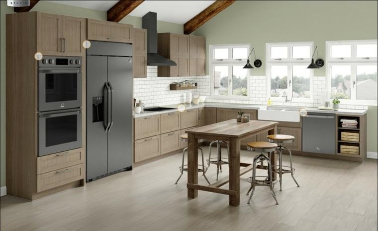cocina-muebles-madera-estilo-original