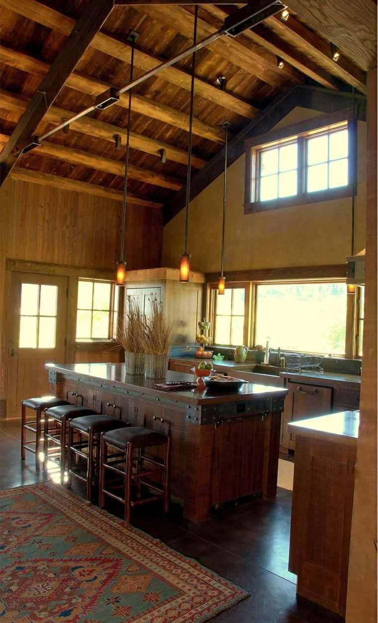cocina-opciones-originales-diseno-estilo-rusticos