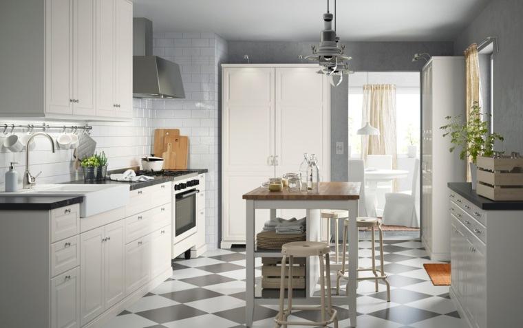 Cocinas alargadas ideas para aprovechar su espacios for Muebles para recibidores pequenos