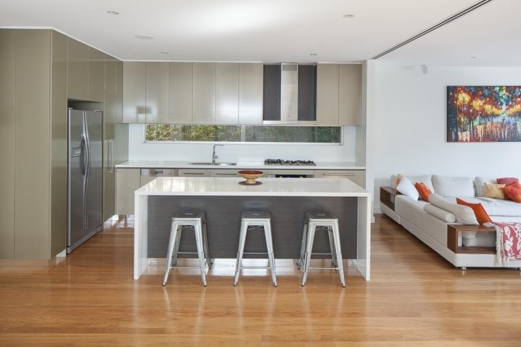 cocinas modernas-Justin-Loe-Architects