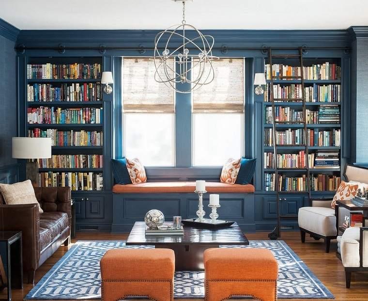color-azul-sala-estar-diseno-original
