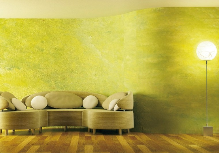 color-verde-pared-opciones-estilo