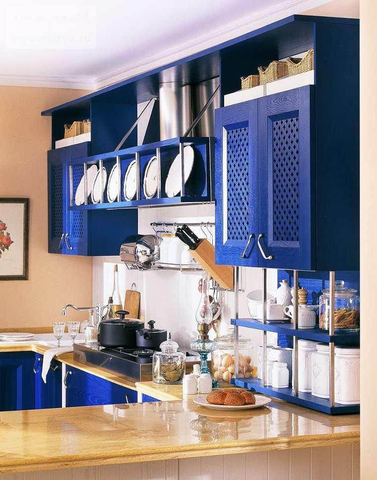 Vistoso Ideas De Cocina Marina Azul Imágenes - Ideas de Decoración ...