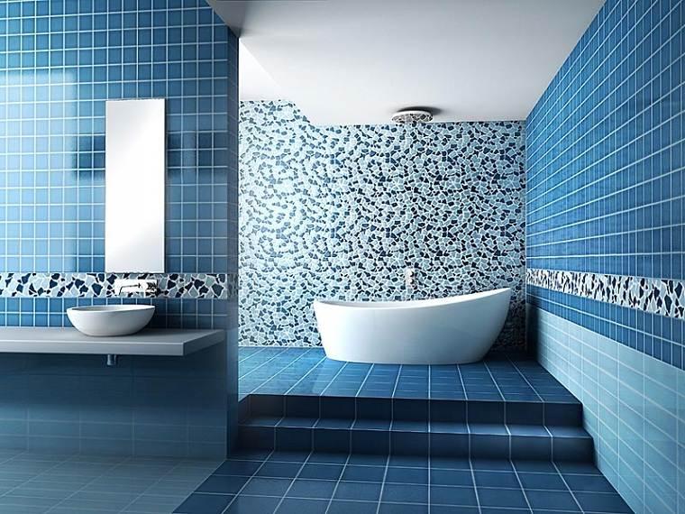 colores básicos azul-bano-diseno-mosaico