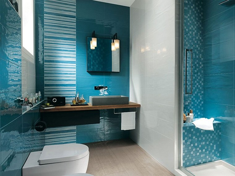 colores básicos azul-bano-ideas