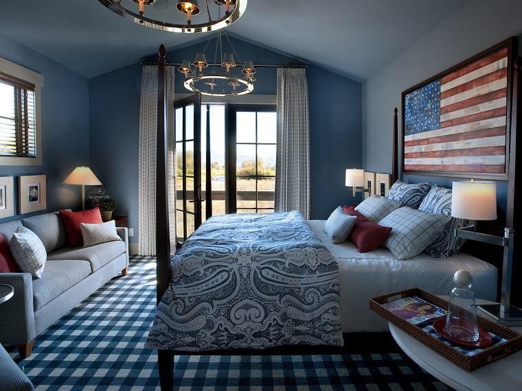 colores de moda-opcion-dormitorio-azul-estilo