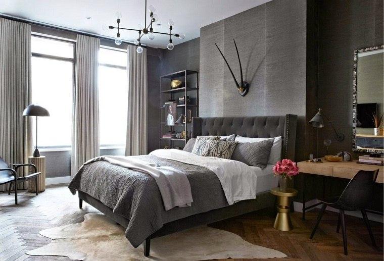 colores-de-moda-opcion-dormitorio-gris-cama