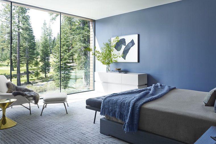 colores de moda-opcion-dormitorio-ventana-luminoso