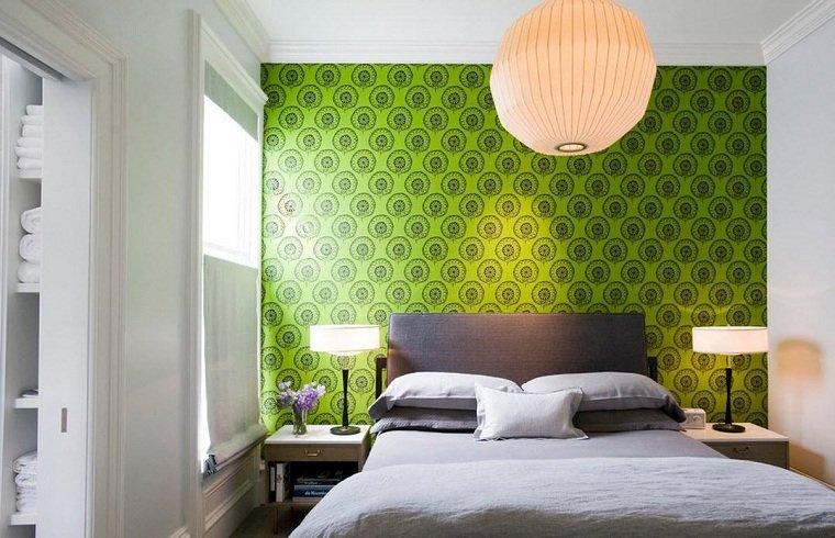 colores-de-moda-opcion-dormitorio-verde-brillante