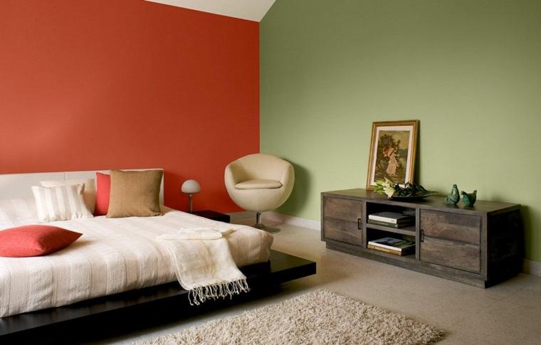 colores de moda para paredes-naranja