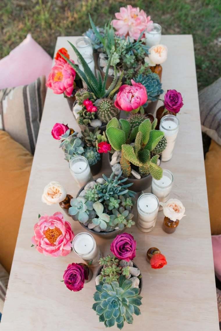 centros de flores
