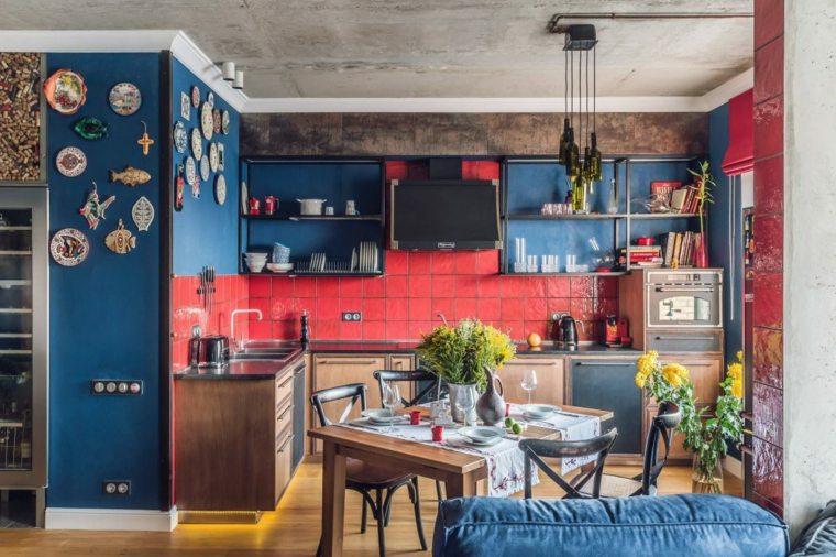 Colores para pintar una casa las tendencias que nos - Colores para pintar una cocina ...