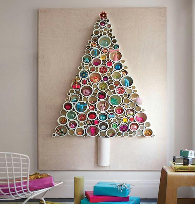 cómo hacer un árbol de Navidad diferente