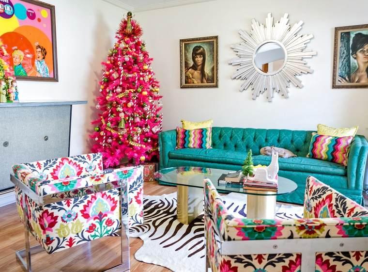inspiración para la decoración del árbol de Navidad
