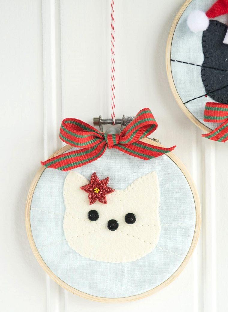 como-hacer-adonros-de-navidad-gato-blanco