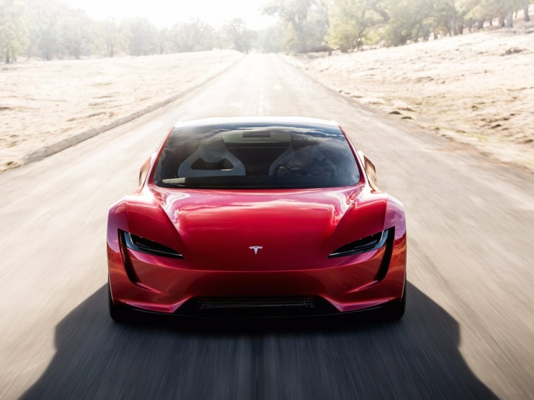 Tesla Roadster impresionante