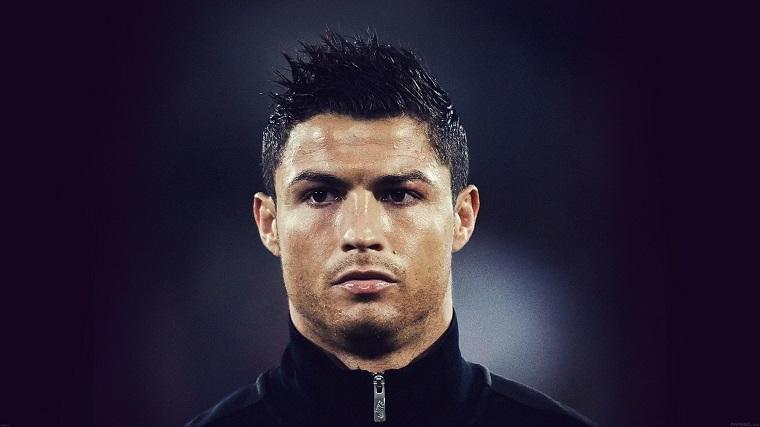 corte de pelo Cristiano Ronaldo-pelo-rizado
