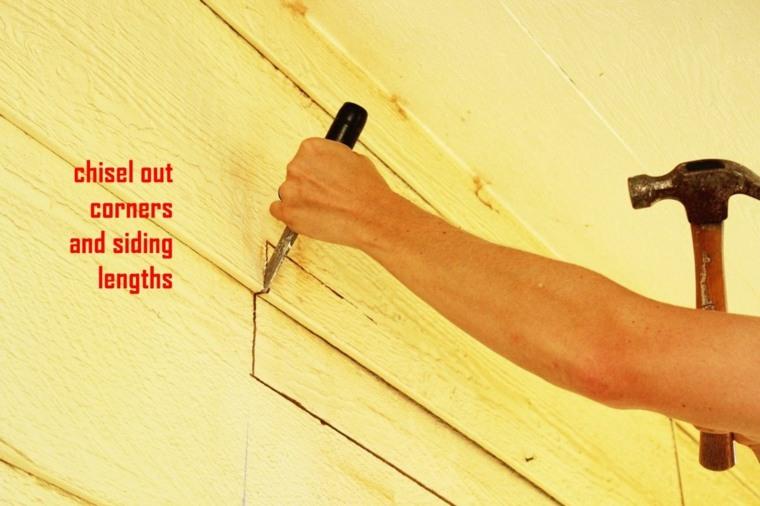 cortes poco profundos paredes