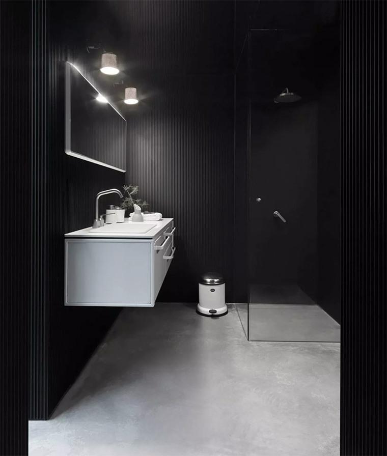 cuarto baño moderno diferente