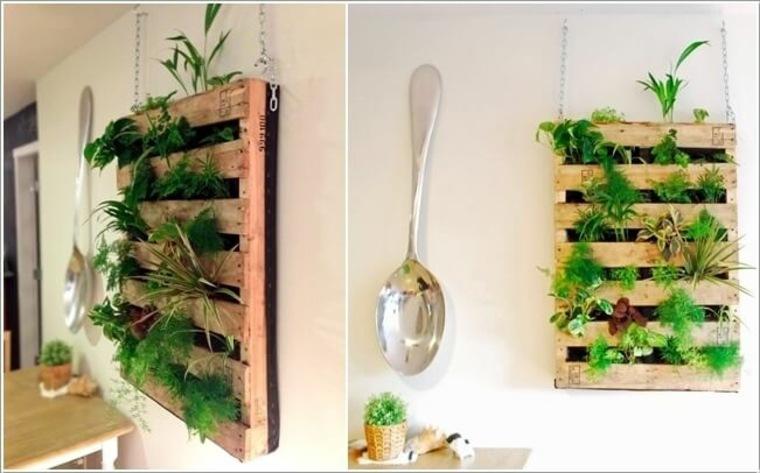 cómo plantar un jardin vertical