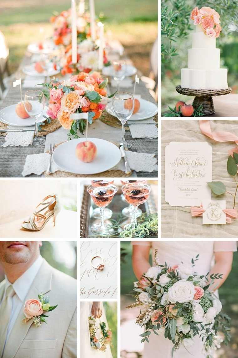wedding ideas for september 2018 decoraci 243 n bodas vintage modernas y los colores de moda 28014