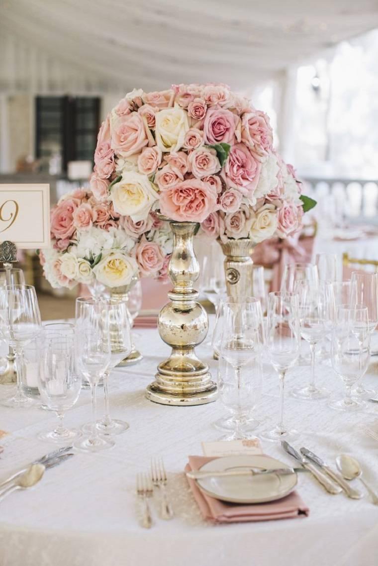 decoracion-bodas-vintage-modernas-rosas-belleza
