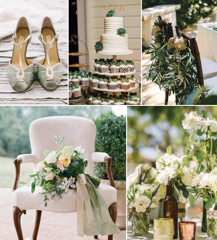 decoracion-bodas-vintage-modernas-verde-opciones