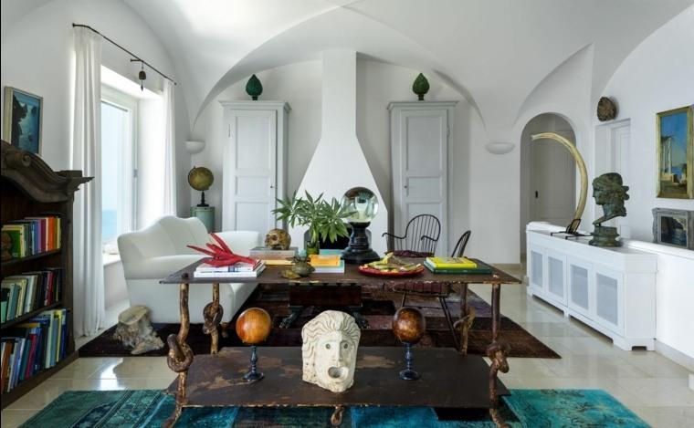 decoración ideas creativas-chimenea-esquinas-arquitectura