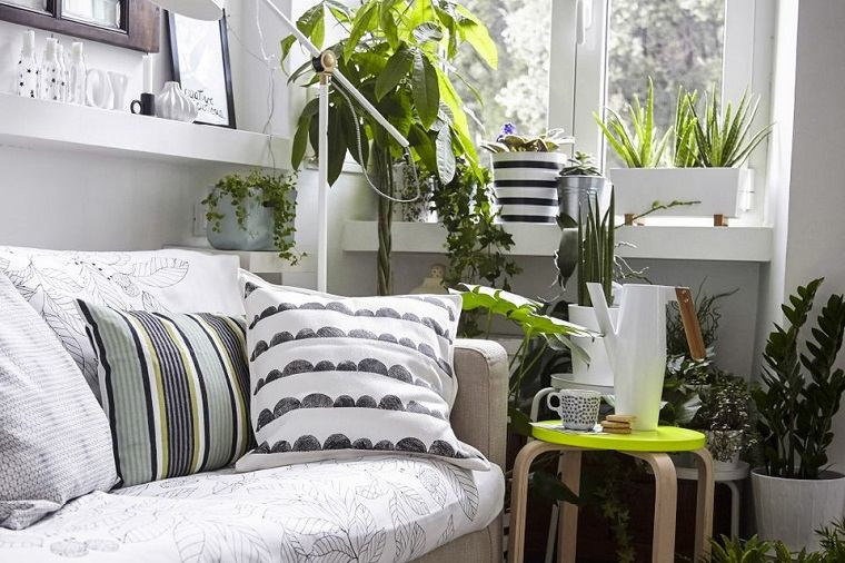 decoraci n ideas creativas para las esquinas vacias de la casa. Black Bedroom Furniture Sets. Home Design Ideas