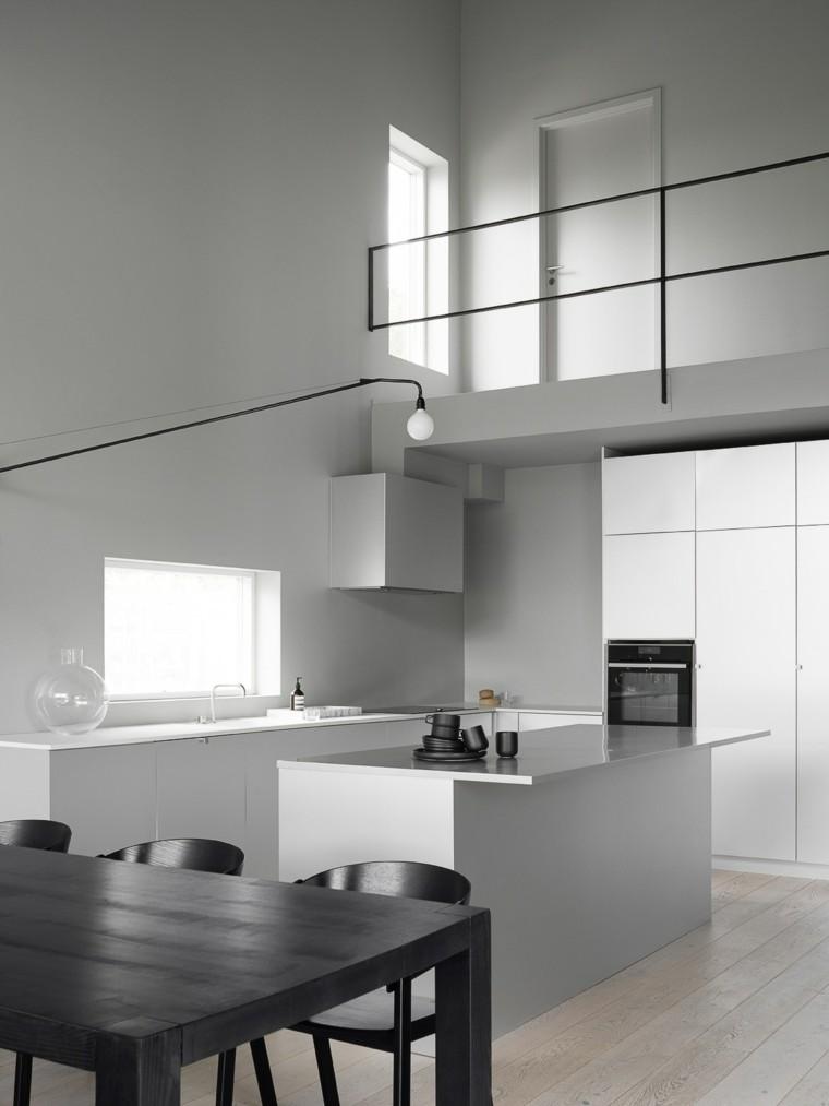 decoracion-minimalista-cocina-comedor-opciones