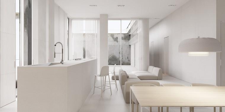decoración minimalista-estilo-moderno-opciones