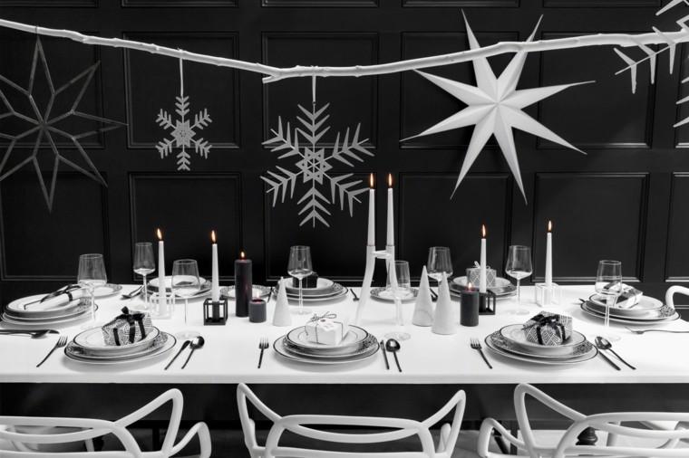 decoración navideña original-ideas-comedor