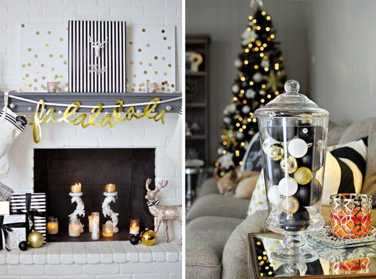 decoracion-navidena-original-negro-blanco-oro