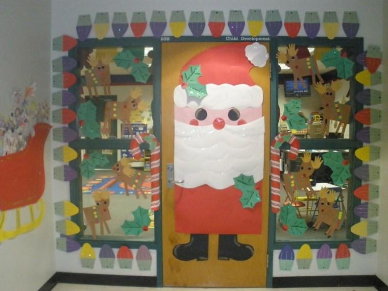 decoracion-navidena-puerta-y-paredes