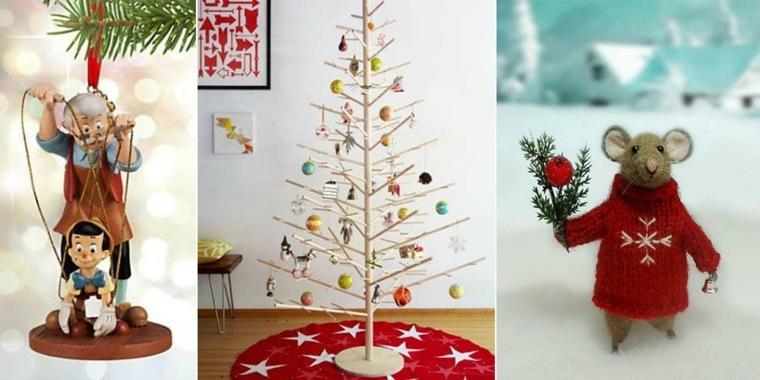 adornos de Navidad originales