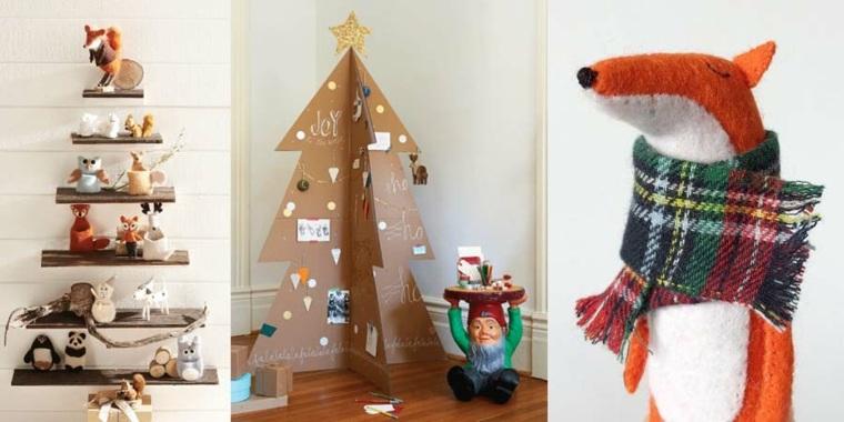 originales ideas de decoración de Navidad