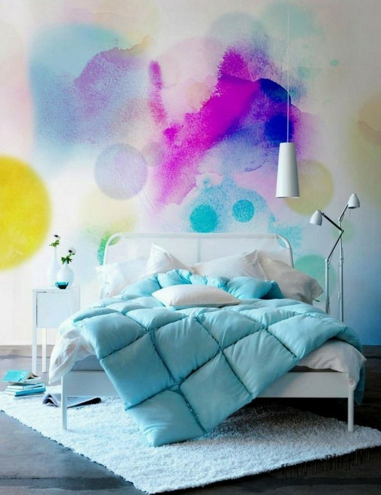 decoracion-pared-dormitorio-opciones-originales-estilo-moderno