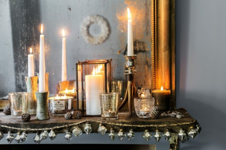 decoracion-velas-lujo-casa-navidad